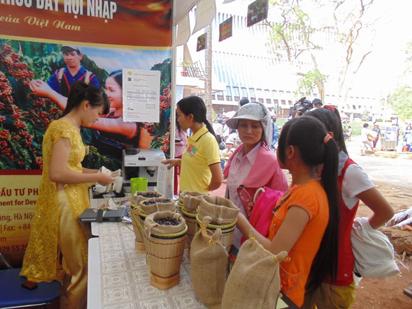 Over 600 booths will participate in the Coffee Specialized Exhibition for the 7th Buon Ma Thuot Coffee Festival, 2019